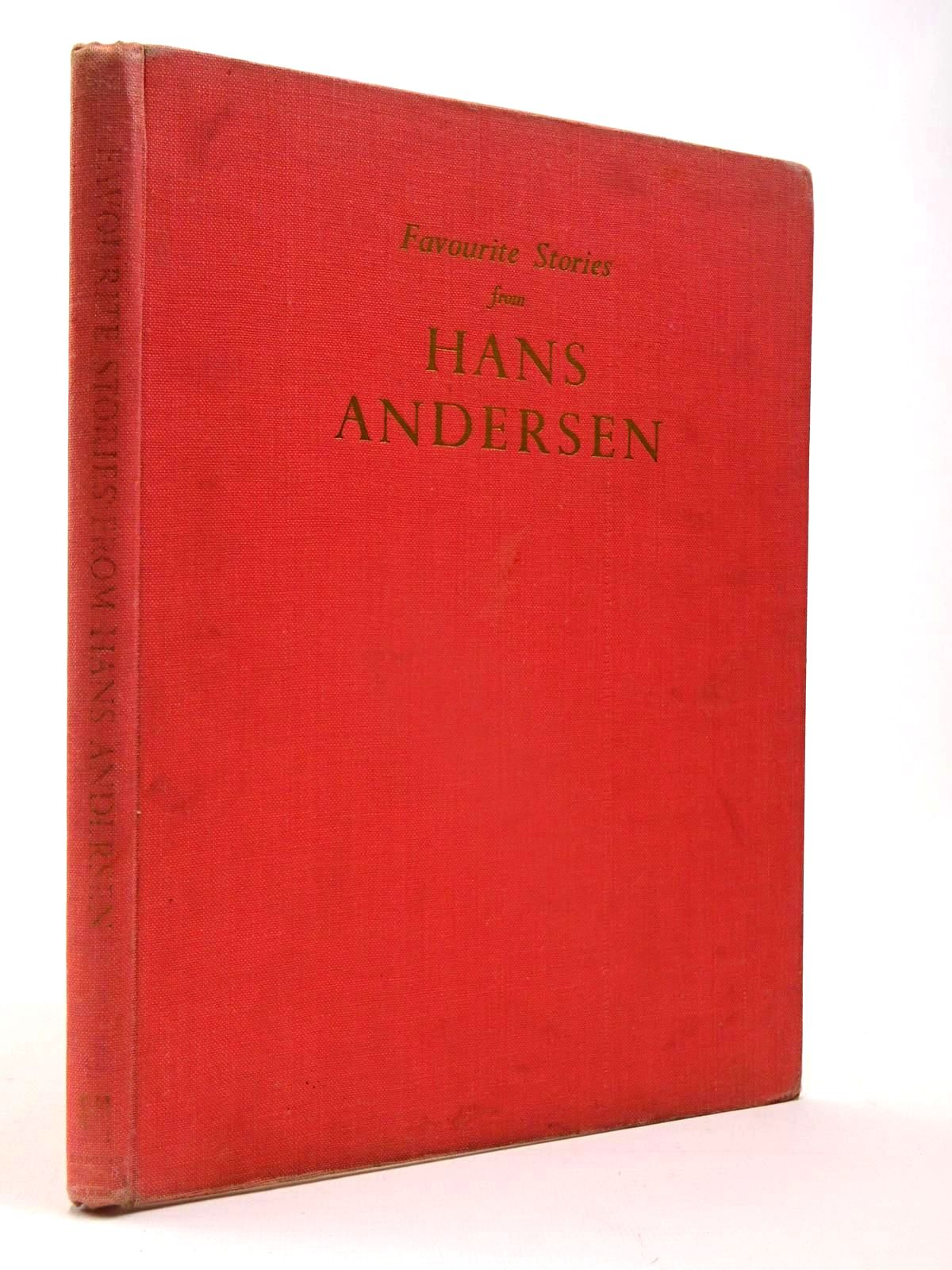 Photo of FAVOURITE STORIES FROM HANS ANDERSEN written by Andersen, Hans Christian<br />Green, Roger Lancelyn illustrated by Cloke, Rene published by Edmund Ward (STOCK CODE: 2130105)  for sale by Stella & Rose's Books