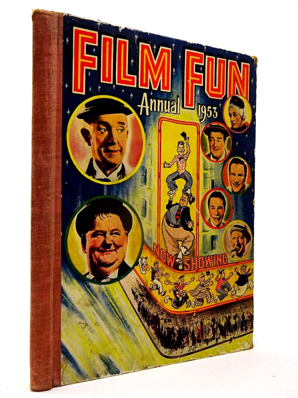 Photo of FILM FUN ANNUAL 1953 published by The Amalgamated Press (STOCK CODE: 2130119)  for sale by Stella & Rose's Books