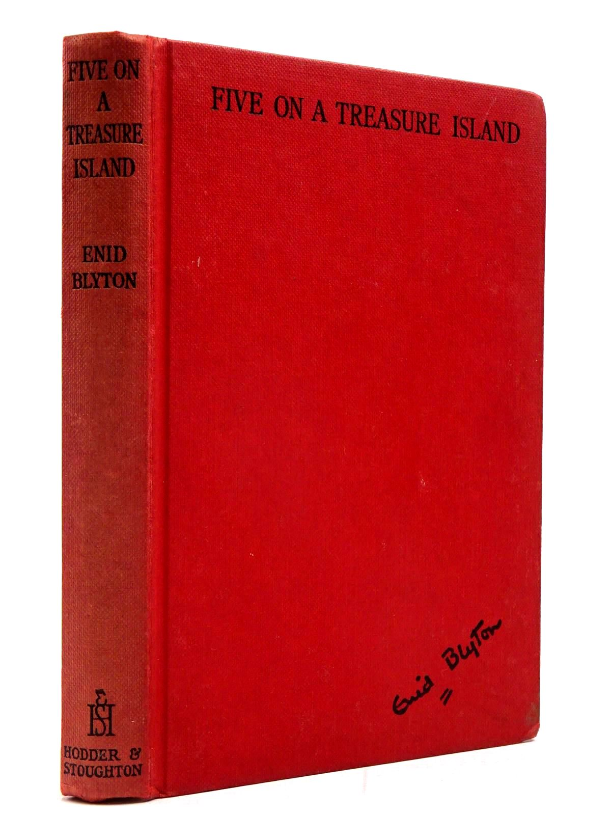 Photo of FIVE ON A TREASURE ISLAND written by Blyton, Enid illustrated by Soper, Eileen published by Hodder & Stoughton (STOCK CODE: 2130177)  for sale by Stella & Rose's Books