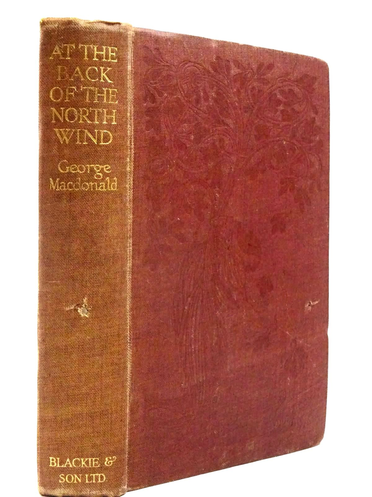 Photo of AT THE BACK OF THE NORTH WIND written by MacDonald, George illustrated by Pape, Frank C. published by Blackie & Son Ltd. (STOCK CODE: 2130202)  for sale by Stella & Rose's Books