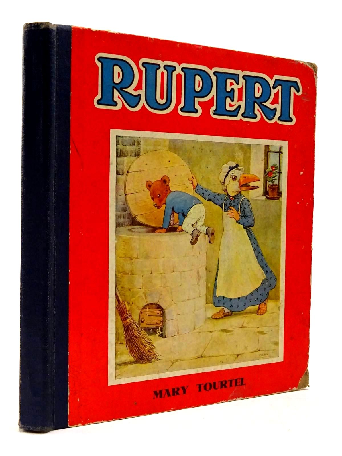 Photo of RUPERT THREE STORIES OF THE LITTLE BEAR'S ADVENTURES written by Tourtel, Mary illustrated by Tourtel, Mary published by Marks and Spencer Limited (STOCK CODE: 2130257)  for sale by Stella & Rose's Books