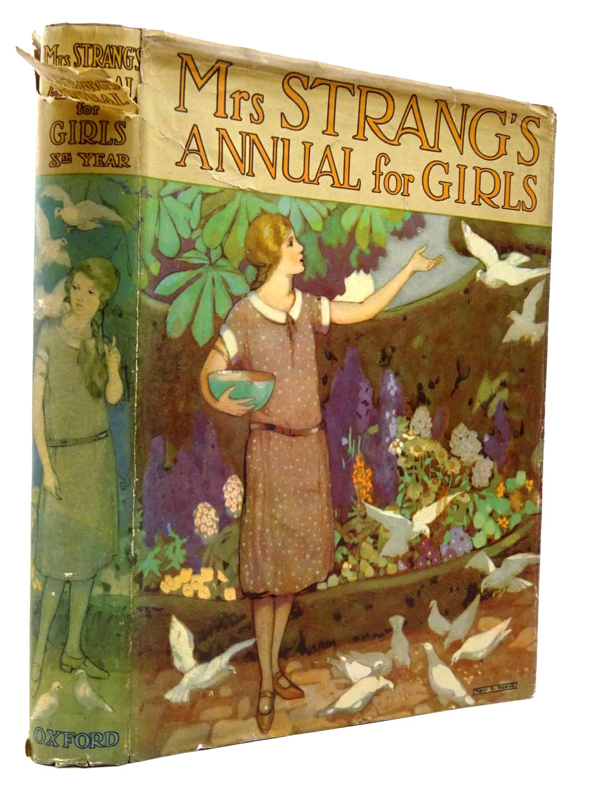 Photo of MRS STRANG'S ANNUAL FOR GIRLS written by Strang, Mrs. Herbert<br />Darch, Winifred<br />Bruce, Dorita Fairlie<br />et al,  illustrated by Brock, C.E.<br />Harrison, Florence<br />Reeve, Mary Strange<br />et al.,  published by Oxford University Press, Humphrey Milford (STOCK CODE: 2130302)  for sale by Stella & Rose's Books