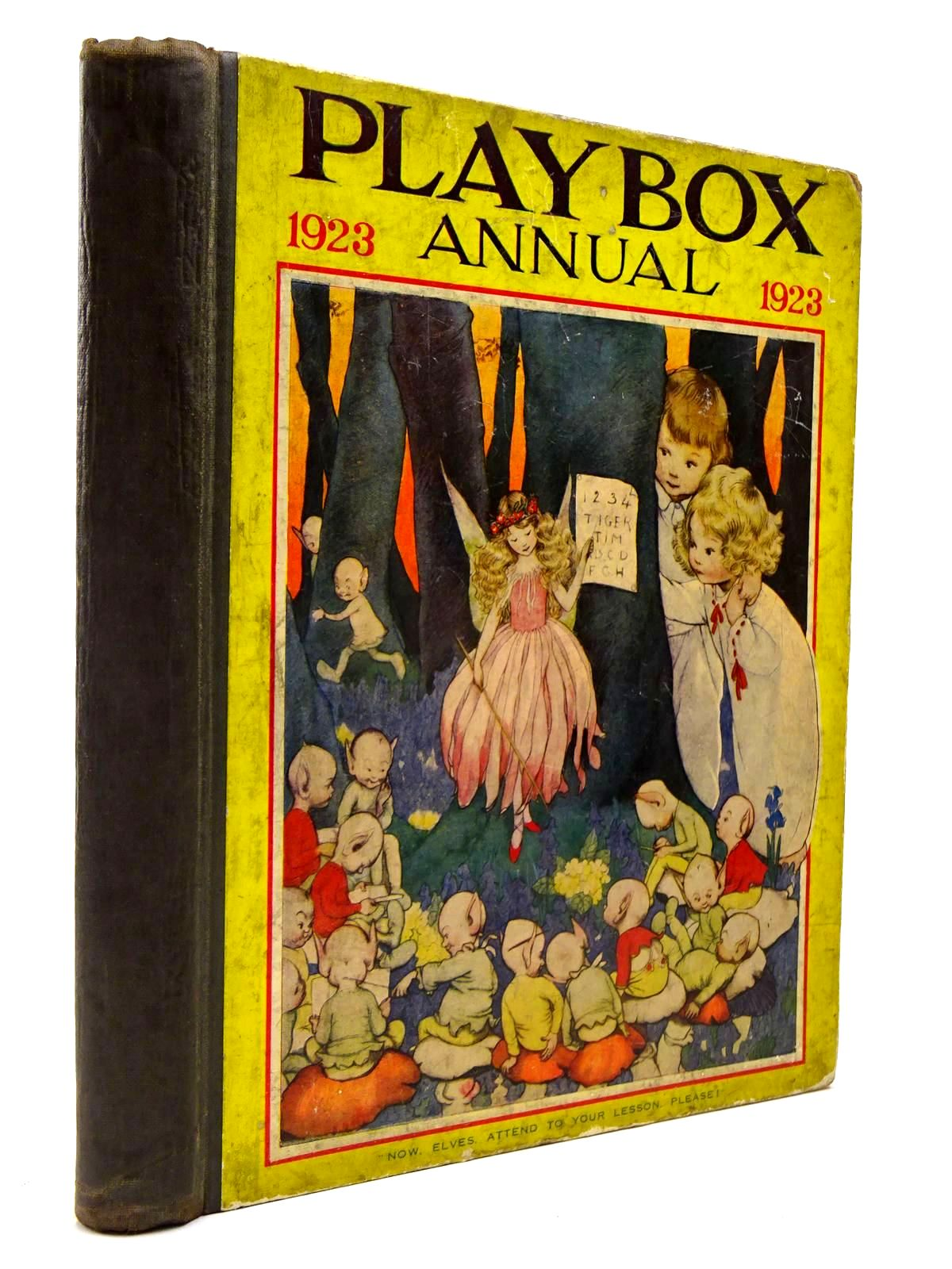 Photo of PLAYBOX ANNUAL 1923 illustrated by Lambert, H.G.C. Marsh<br />Church, L.<br />Cash, S.J.<br />et al.,  published by The Amalgamated Press (STOCK CODE: 2130312)  for sale by Stella & Rose's Books