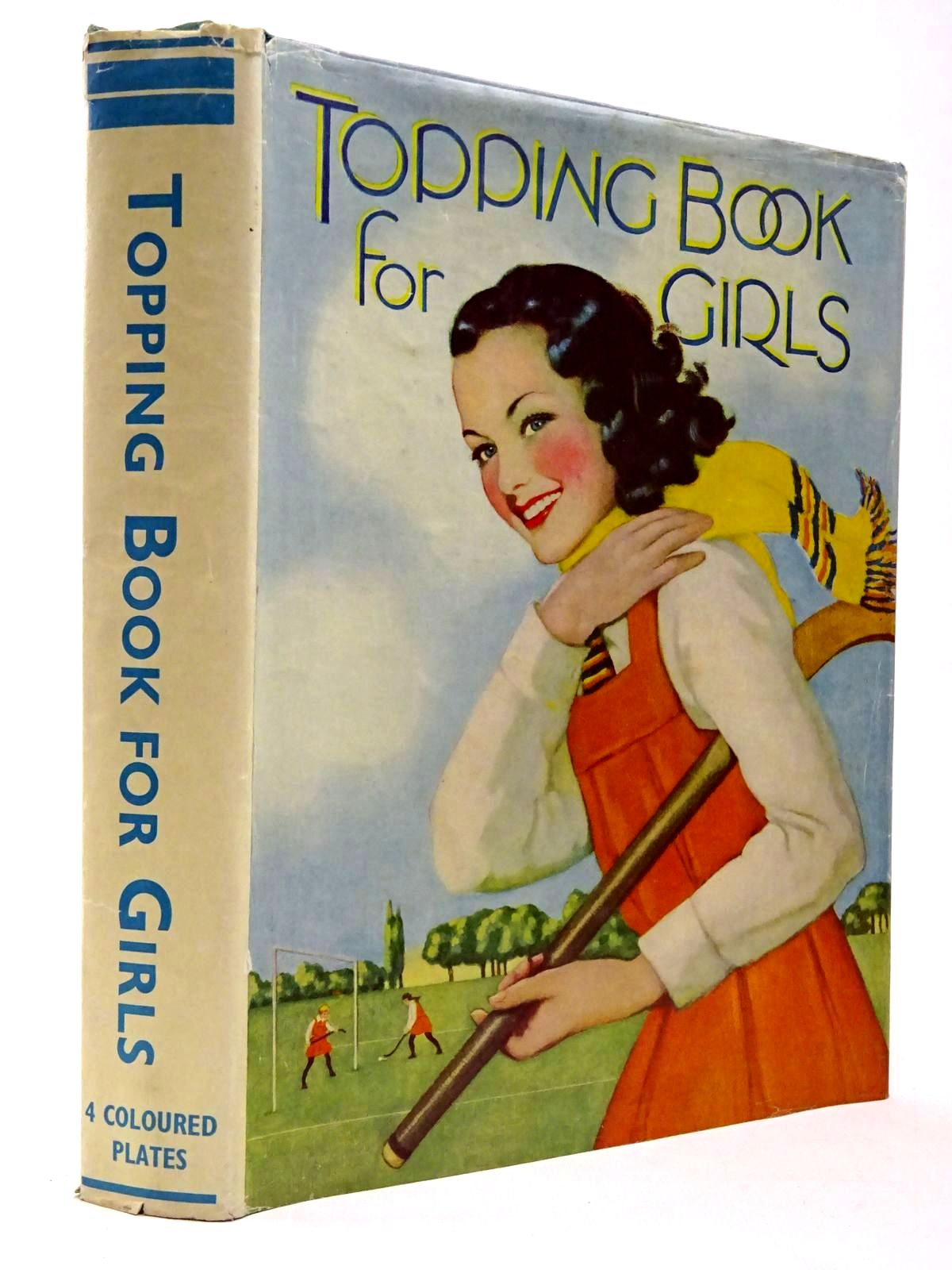Photo of TOPPING BOOK FOR GIRLS written by White, Heather<br />Mossop, Irene<br />et al, published by Dean & Son Ltd. (STOCK CODE: 2130315)  for sale by Stella & Rose's Books
