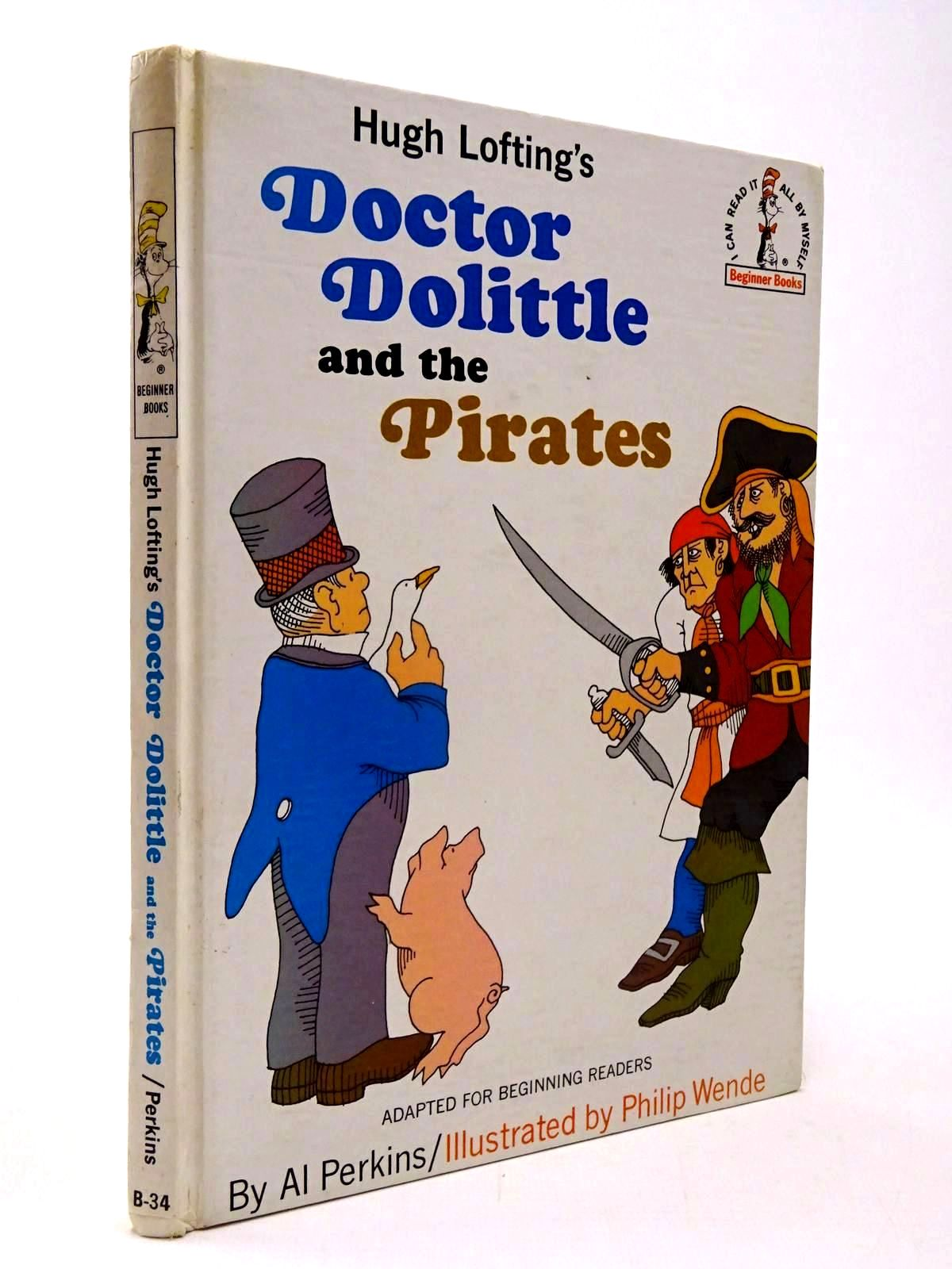 Photo of DOCTOR DOLITTLE AND THE PIRATES written by Lofting, Hugh<br />Perkins, Al illustrated by Wende, Philip published by Collins and Harvill (STOCK CODE: 2130339)  for sale by Stella & Rose's Books