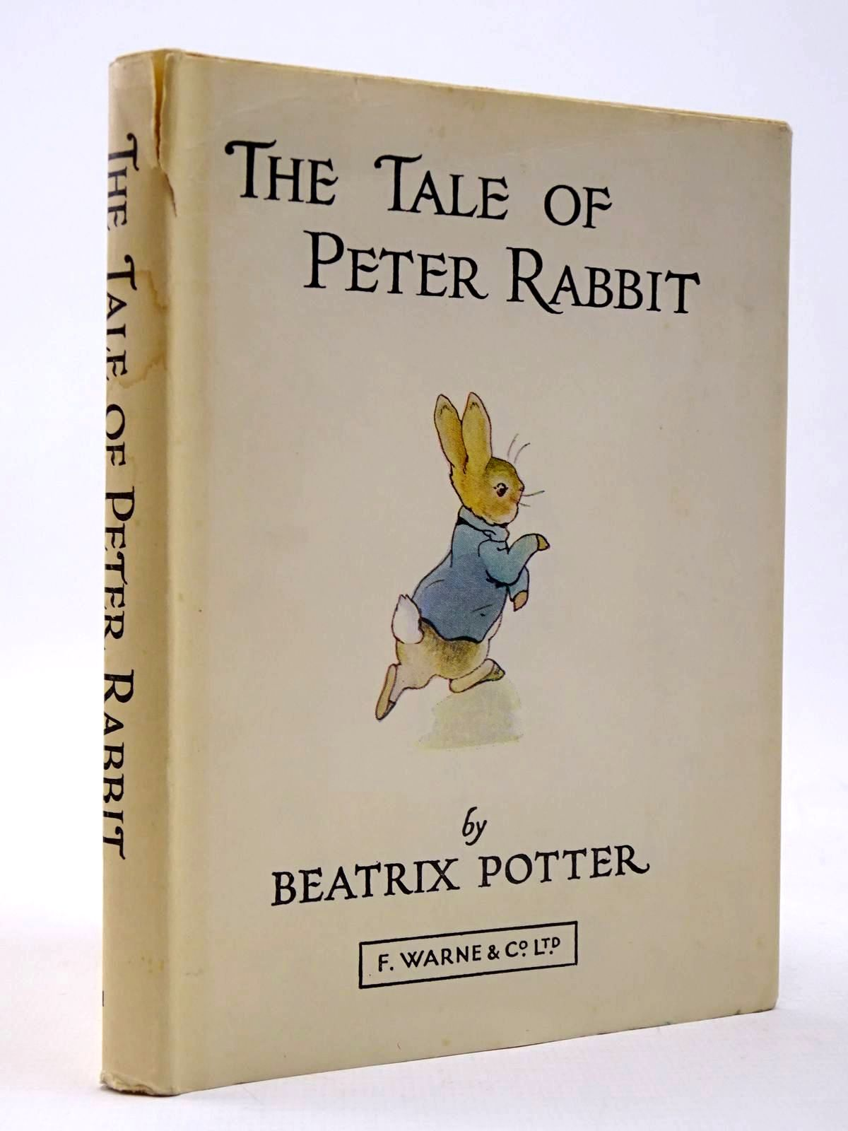 Photo of THE TALE OF PETER RABBIT written by Potter, Beatrix illustrated by Potter, Beatrix published by Frederick Warne & Co Ltd. (STOCK CODE: 2130401)  for sale by Stella & Rose's Books