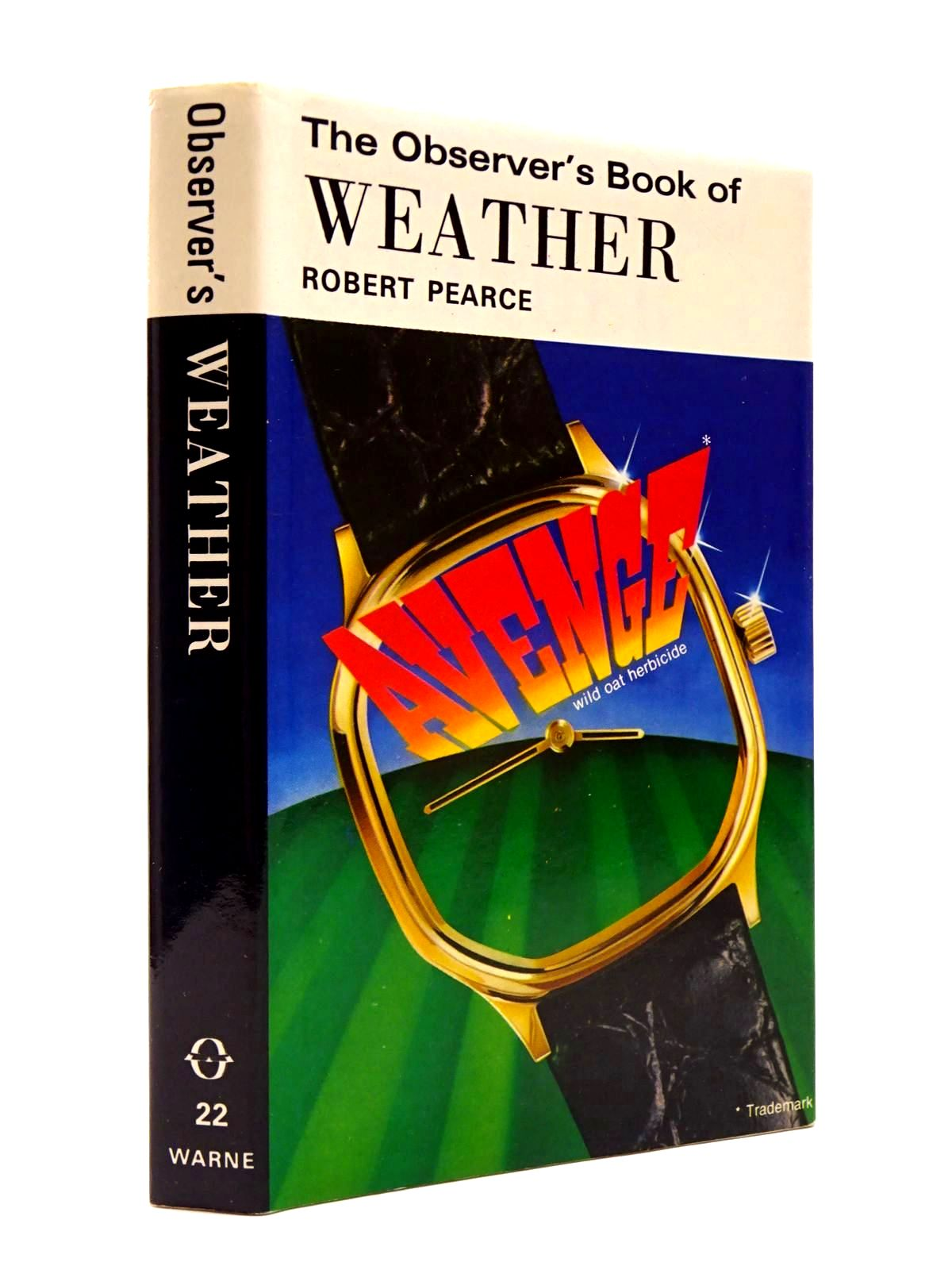 Photo of THE OBSERVER'S BOOK OF WEATHER (CYANAMID WRAPPER) written by Pearce, Robert illustrated by Martin, Ray published by Frederick Warne (STOCK CODE: 2130418)  for sale by Stella & Rose's Books