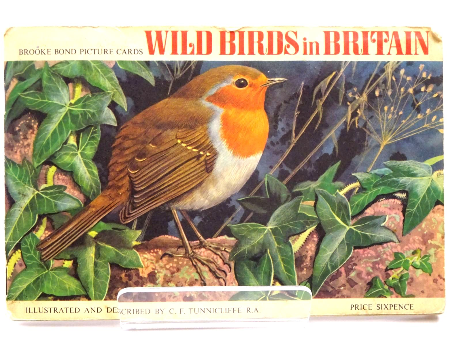 Photo of WILD BIRDS IN BRITAIN written by Tunnicliffe, C.F. illustrated by Tunnicliffe, C.F. published by Brooke Bond (STOCK CODE: 2130442)  for sale by Stella & Rose's Books