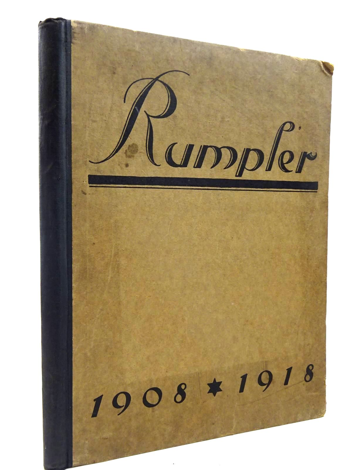 Photo of DIE RUMPLER-WERKE A.-G. published by Ecksteins Biographischer (STOCK CODE: 2130461)  for sale by Stella & Rose's Books