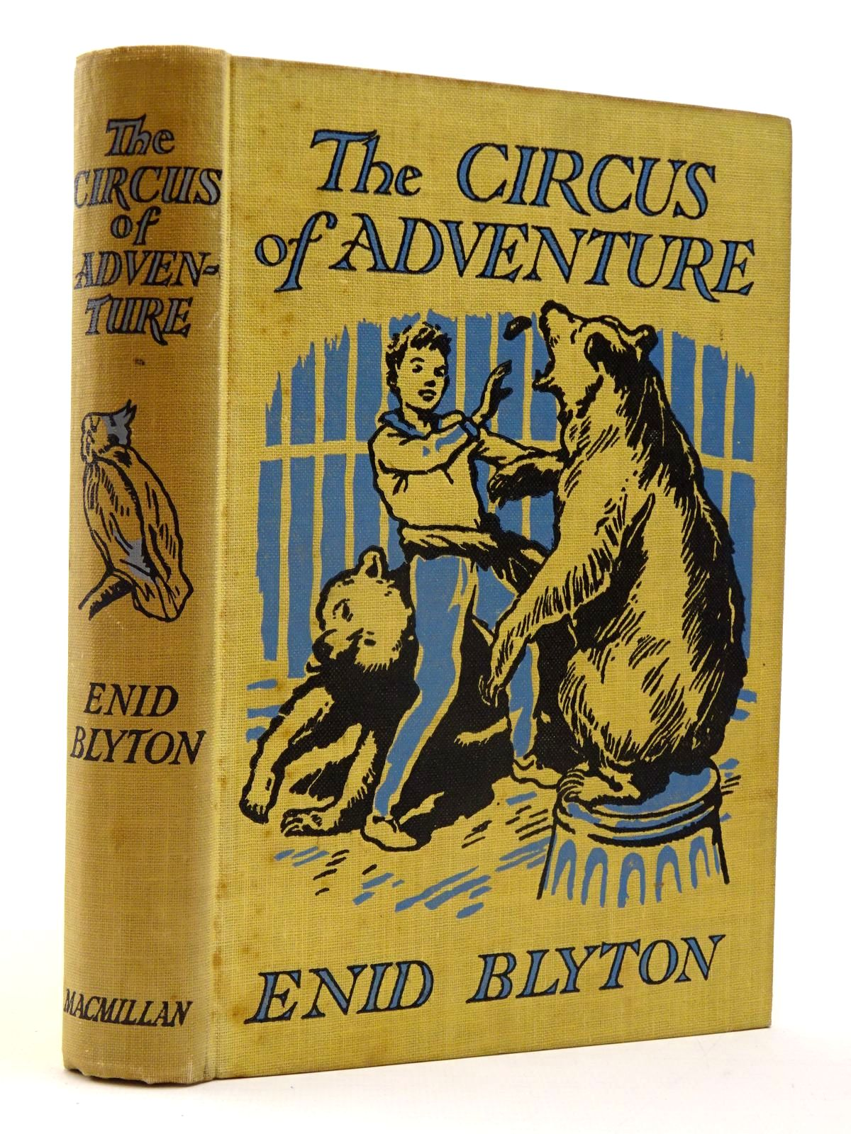 Photo of THE CIRCUS OF ADVENTURE written by Blyton, Enid illustrated by Tresilian, Stuart published by Macmillan & Co. Ltd. (STOCK CODE: 2130493)  for sale by Stella & Rose's Books