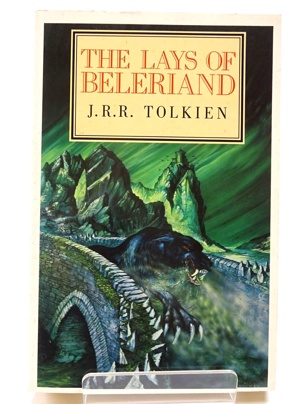 Photo of THE LAYS OF BELERIAND written by Tolkien, J.R.R. published by Unwin Paperbacks (STOCK CODE: 2130549)  for sale by Stella & Rose's Books