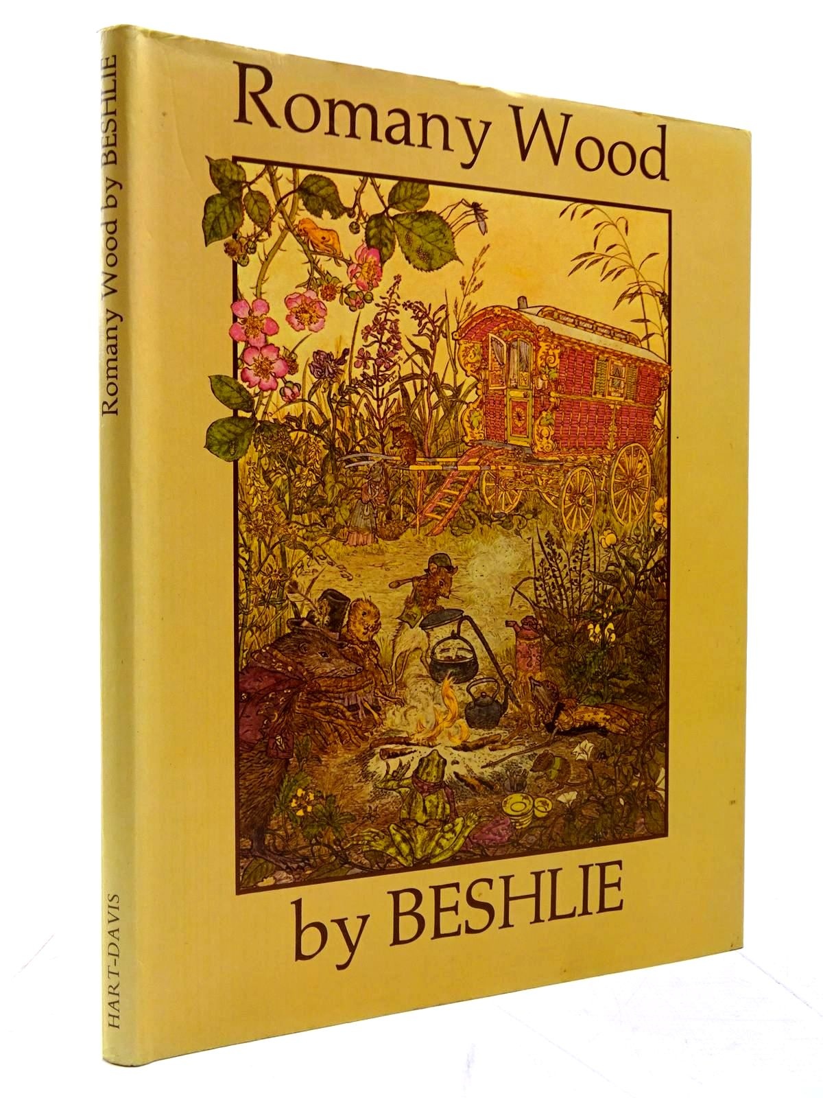 Photo of ROMANY WOOD written by Beshlie, <br />Walser, David illustrated by Beshlie,  published by Hart-Davis Educational Limited (STOCK CODE: 2130578)  for sale by Stella & Rose's Books