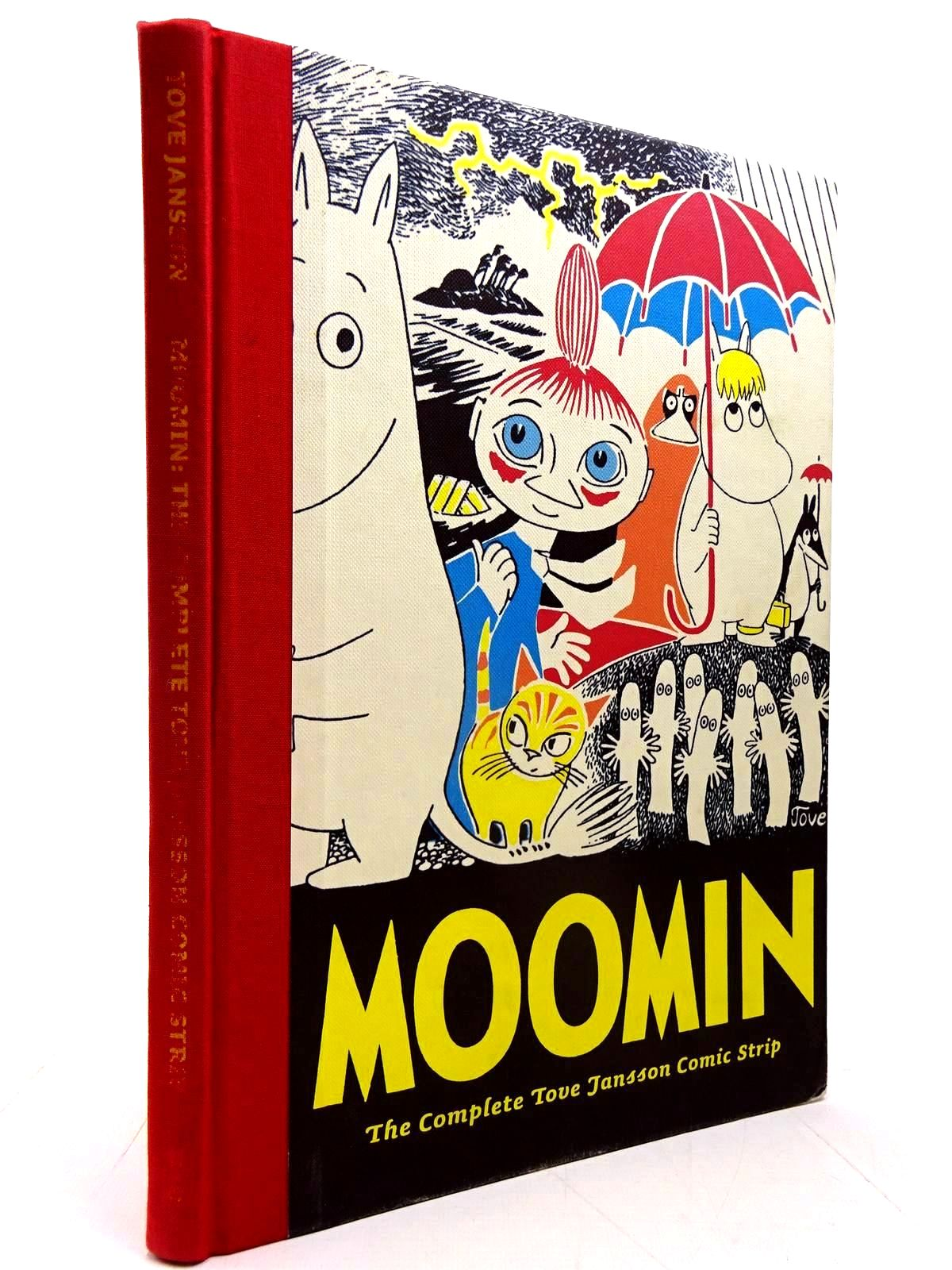 Photo of MOOMIN THE COMPLETE TOVE JANSSON COMIC STRIP written by Jansson, Tove illustrated by Jansson, Tove published by Drawn & Quarterly (STOCK CODE: 2130615)  for sale by Stella & Rose's Books