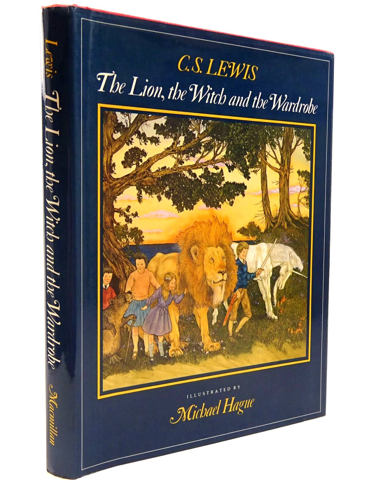 Photo of THE LION, THE WITCH AND THE WARDROBE written by Lewis, C.S. illustrated by Hague, Michael published by Macmillan Publishing Co. (STOCK CODE: 2130623)  for sale by Stella & Rose's Books