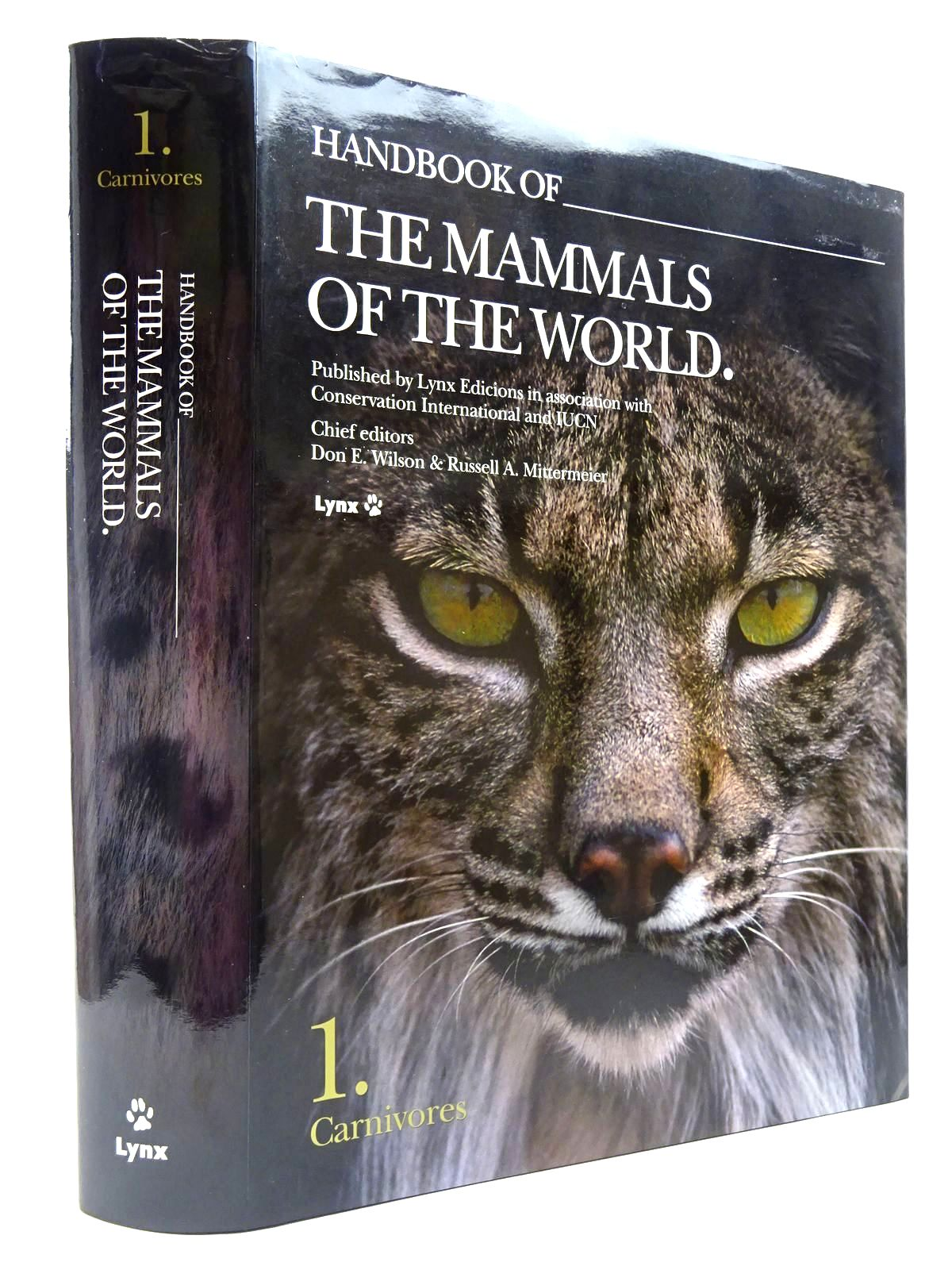 Photo of HANDBOOK OF THE MAMMALS OF THE WORLD 1. CARNIVORES