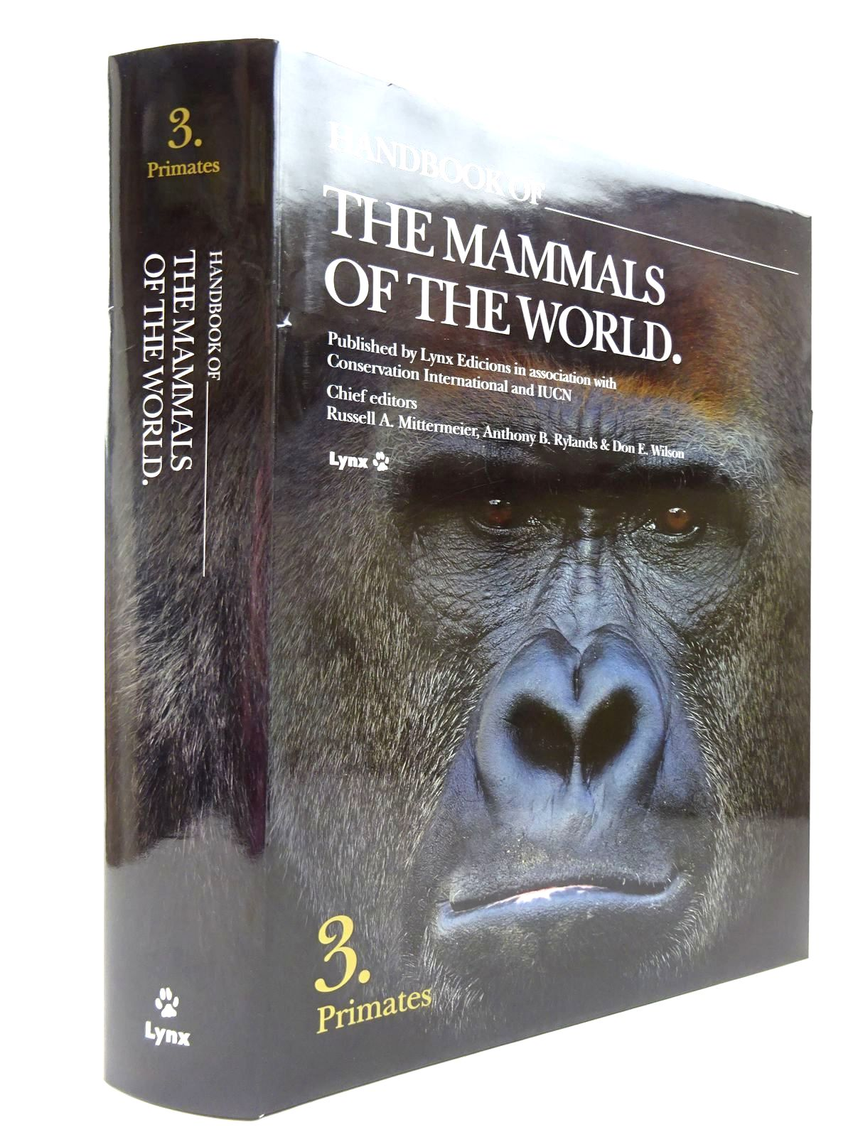 Photo of HANDBOOK OF THE MAMMALS OF THE WORLD 3. PRIMATES