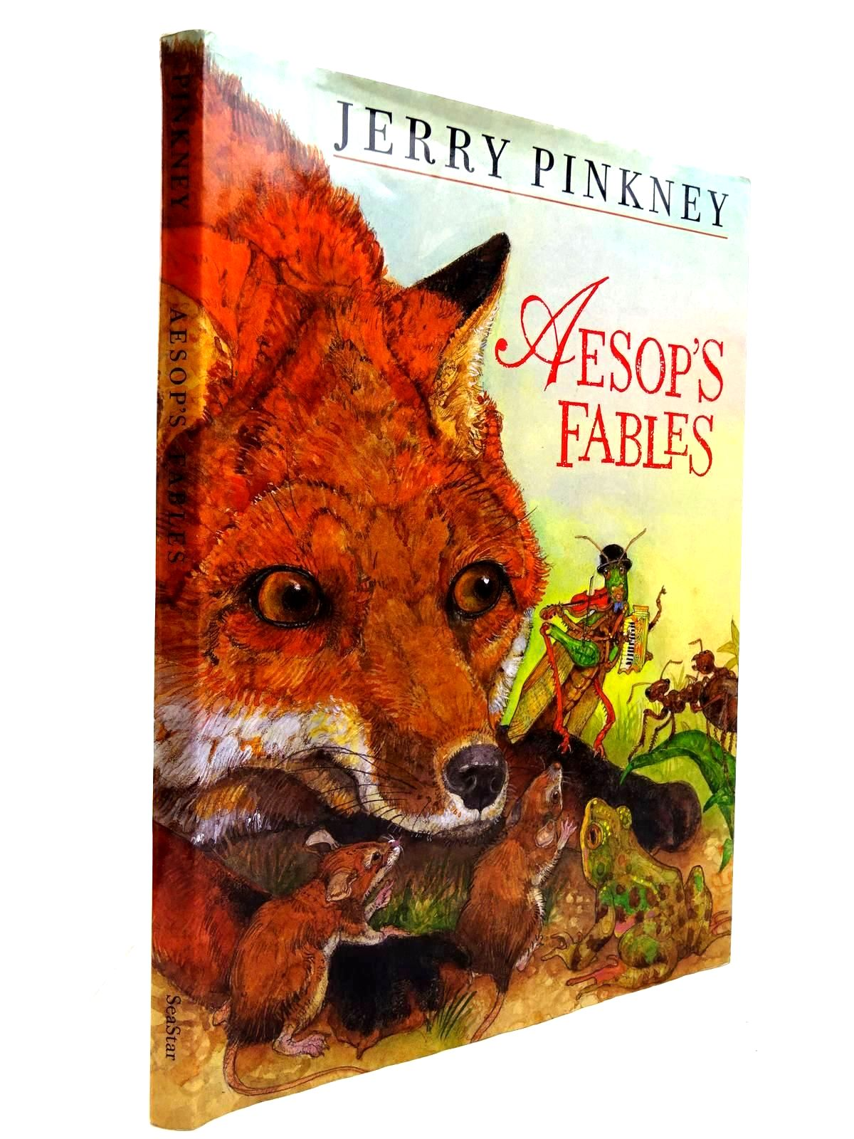Photo of AESOP'S FABLES written by Aesop, illustrated by Pinkney, Jerry published by SeaStar Books (STOCK CODE: 2130655)  for sale by Stella & Rose's Books