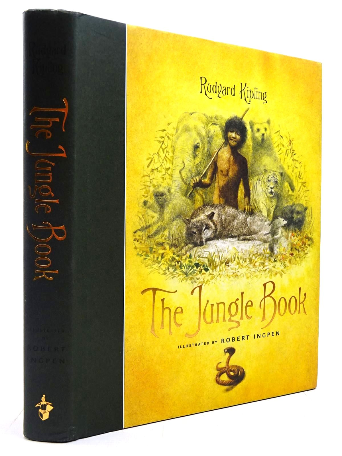 Photo of THE JUNGLE BOOK written by Kipling, Rudyard illustrated by Ingpen, Robert published by Templar Publishing (STOCK CODE: 2130696)  for sale by Stella & Rose's Books