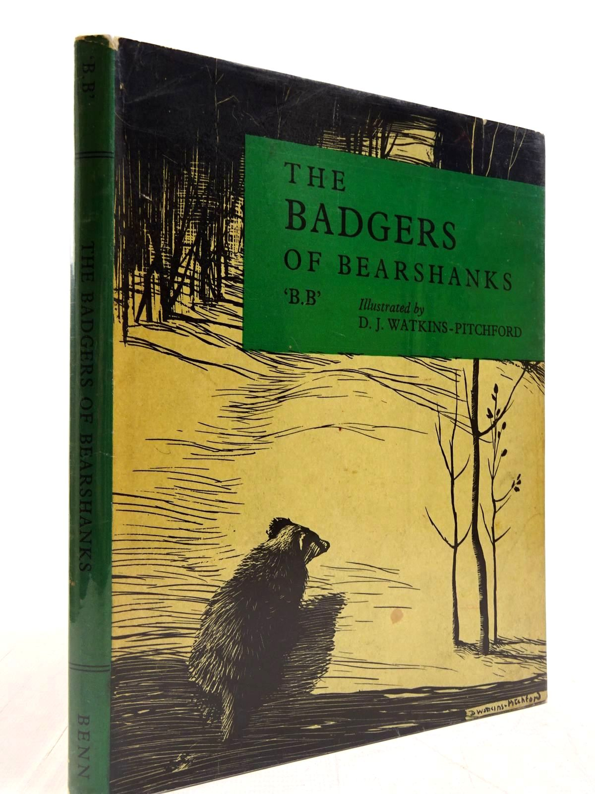 Photo of THE BADGERS OF BEARSHANKS written by BB,  illustrated by BB,  published by Ernest Benn Limited (STOCK CODE: 2130750)  for sale by Stella & Rose's Books