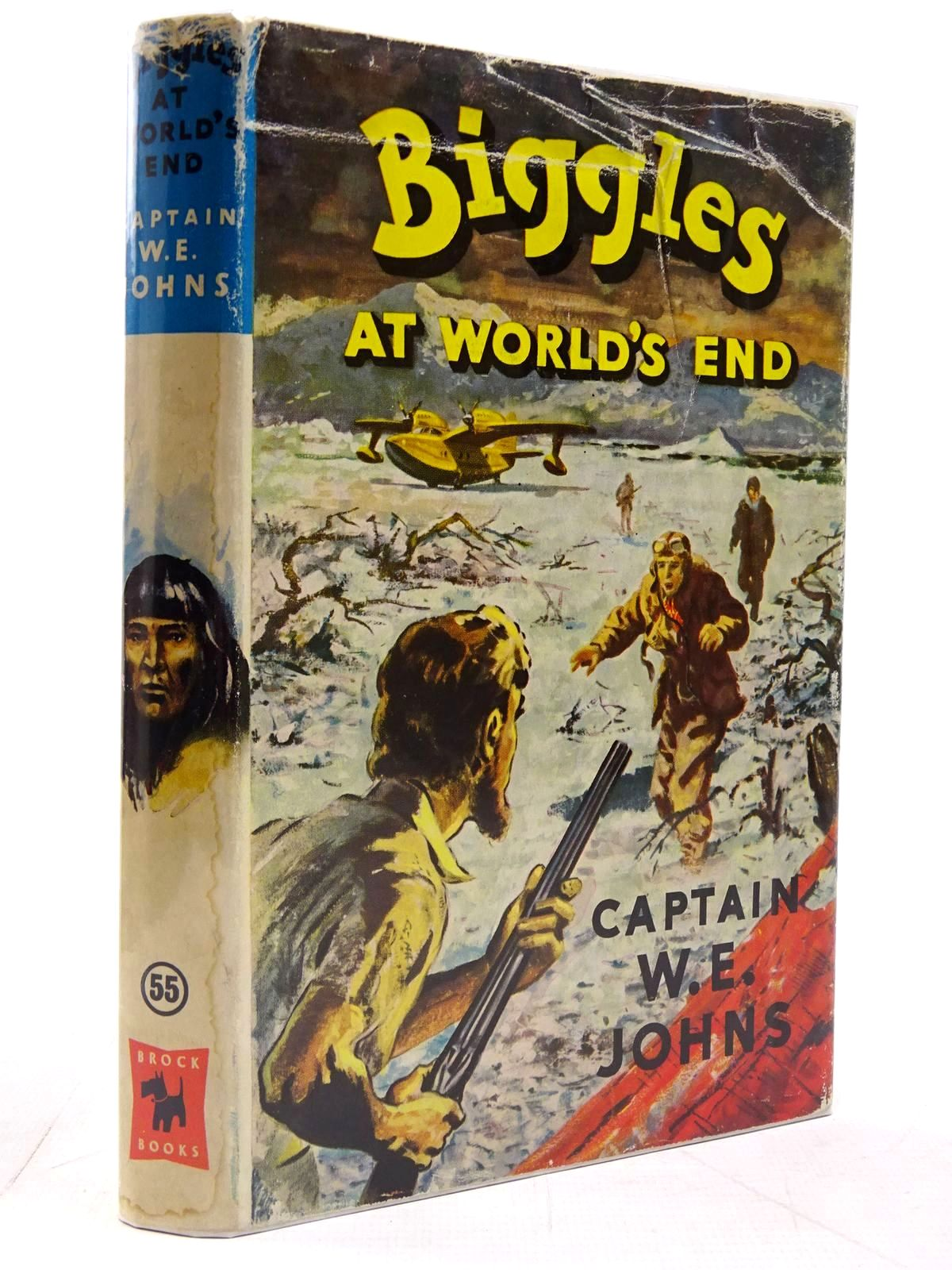 Photo of BIGGLES AT WORLD'S END written by Johns, W.E. illustrated by Stead, Leslie published by Brockhampton Press (STOCK CODE: 2130759)  for sale by Stella & Rose's Books