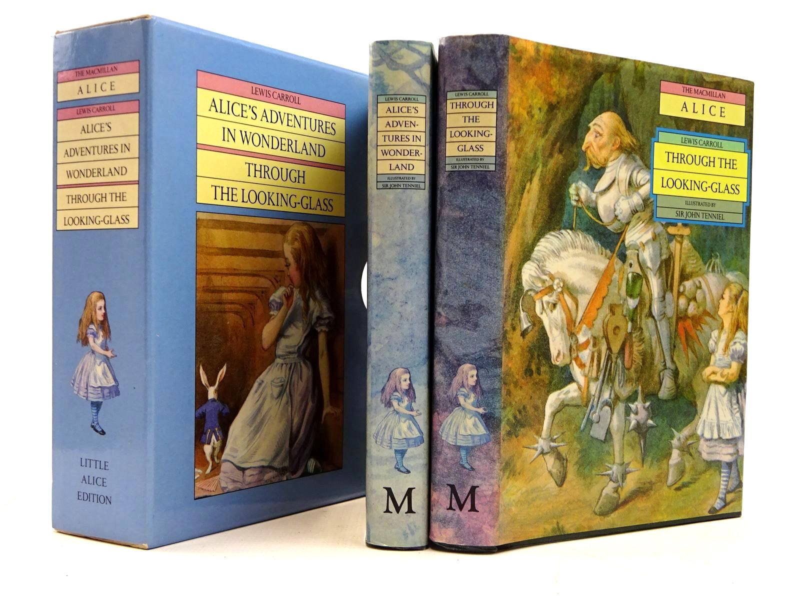 Photo of ALICE'S ADVENTURES IN WONDERLAND AND THROUGH THE LOOKING-GLASS written by Carroll, Lewis illustrated by Tenniel, John published by Macmillan Children's Books (STOCK CODE: 2130768)  for sale by Stella & Rose's Books