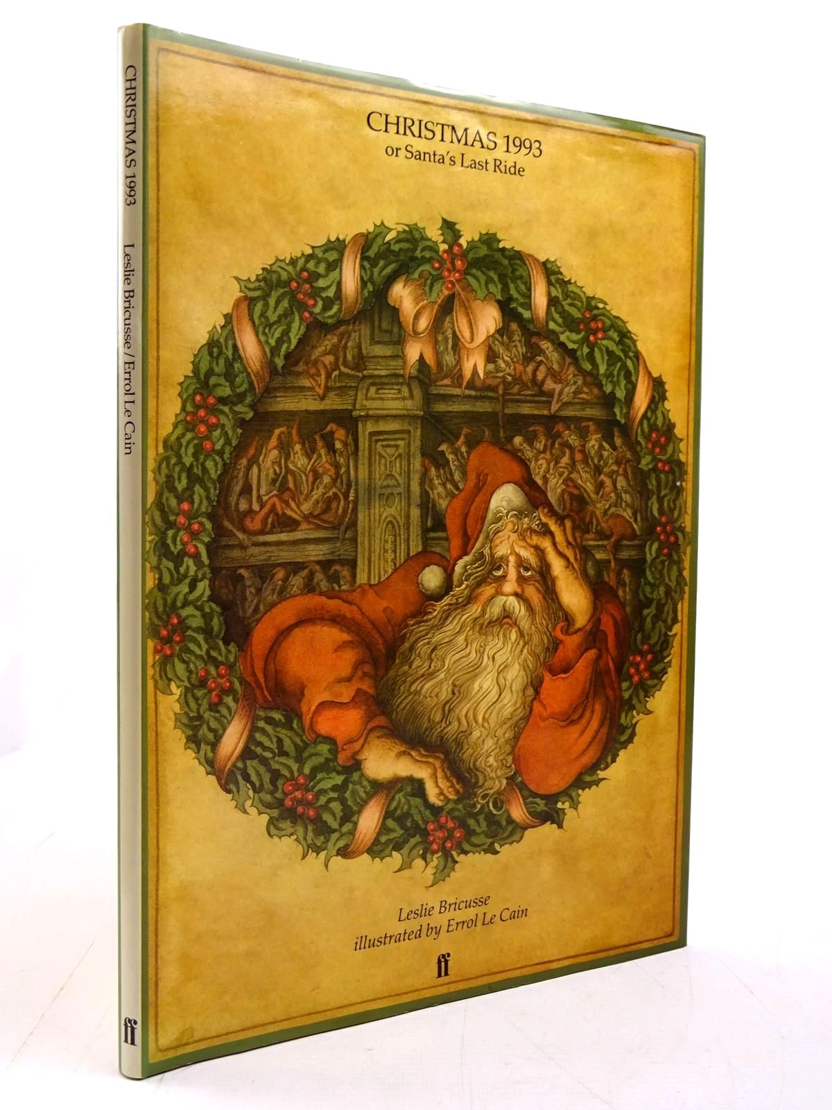 Photo of CHRISTMAS 1993 or SANTA'S LAST RIDE written by Bricusse, Leslie illustrated by Le Cain, Errol published by Faber & Faber (STOCK CODE: 2130789)  for sale by Stella & Rose's Books