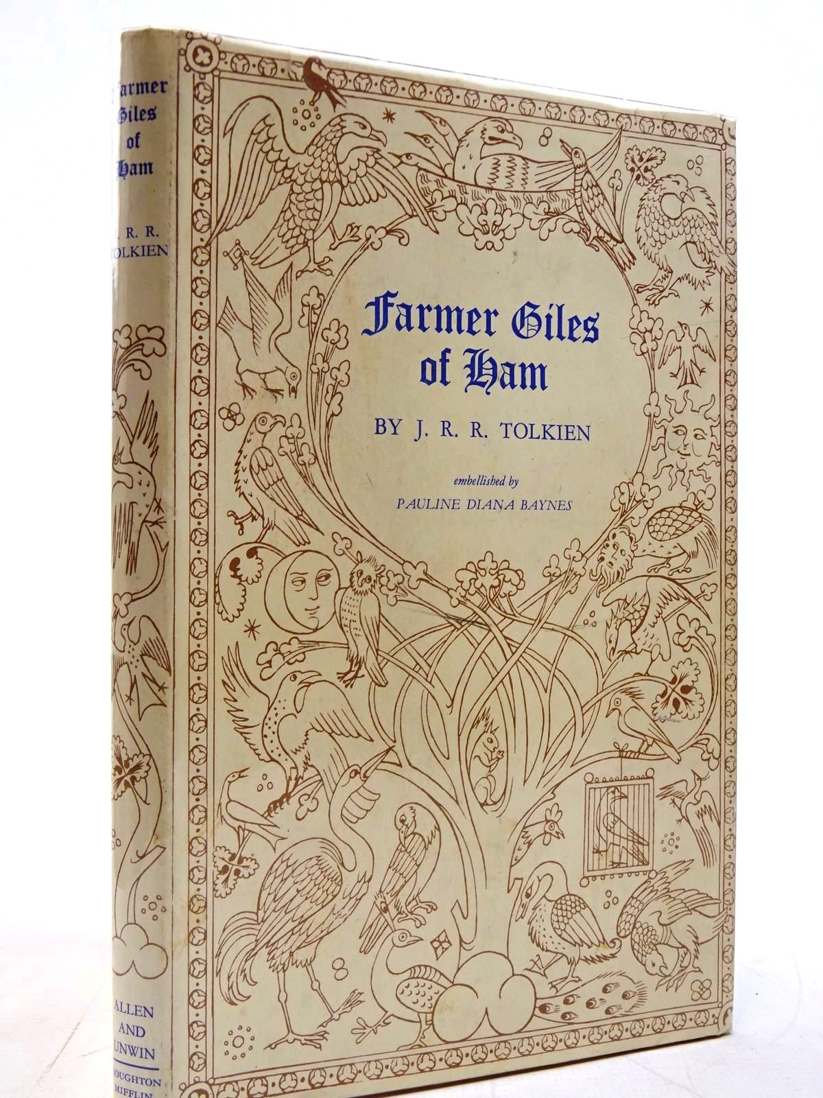 Photo of FARMER GILES OF HAM written by Tolkien, J.R.R. illustrated by Baynes, Pauline published by George Allen & Unwin Ltd., Houghton Mifflin Company (STOCK CODE: 2130816)  for sale by Stella & Rose's Books