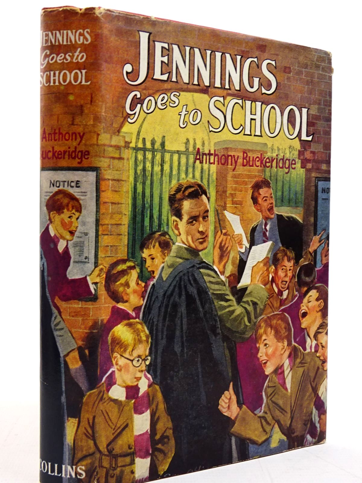 Photo of JENNINGS GOES TO SCHOOL written by Buckeridge, Anthony published by Collins (STOCK CODE: 2130819)  for sale by Stella & Rose's Books