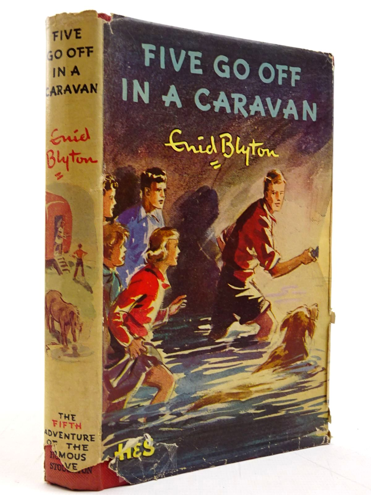 Photo of FIVE GO OFF IN A CARAVAN written by Blyton, Enid illustrated by Soper, Eileen published by Hodder & Stoughton (STOCK CODE: 2130820)  for sale by Stella & Rose's Books