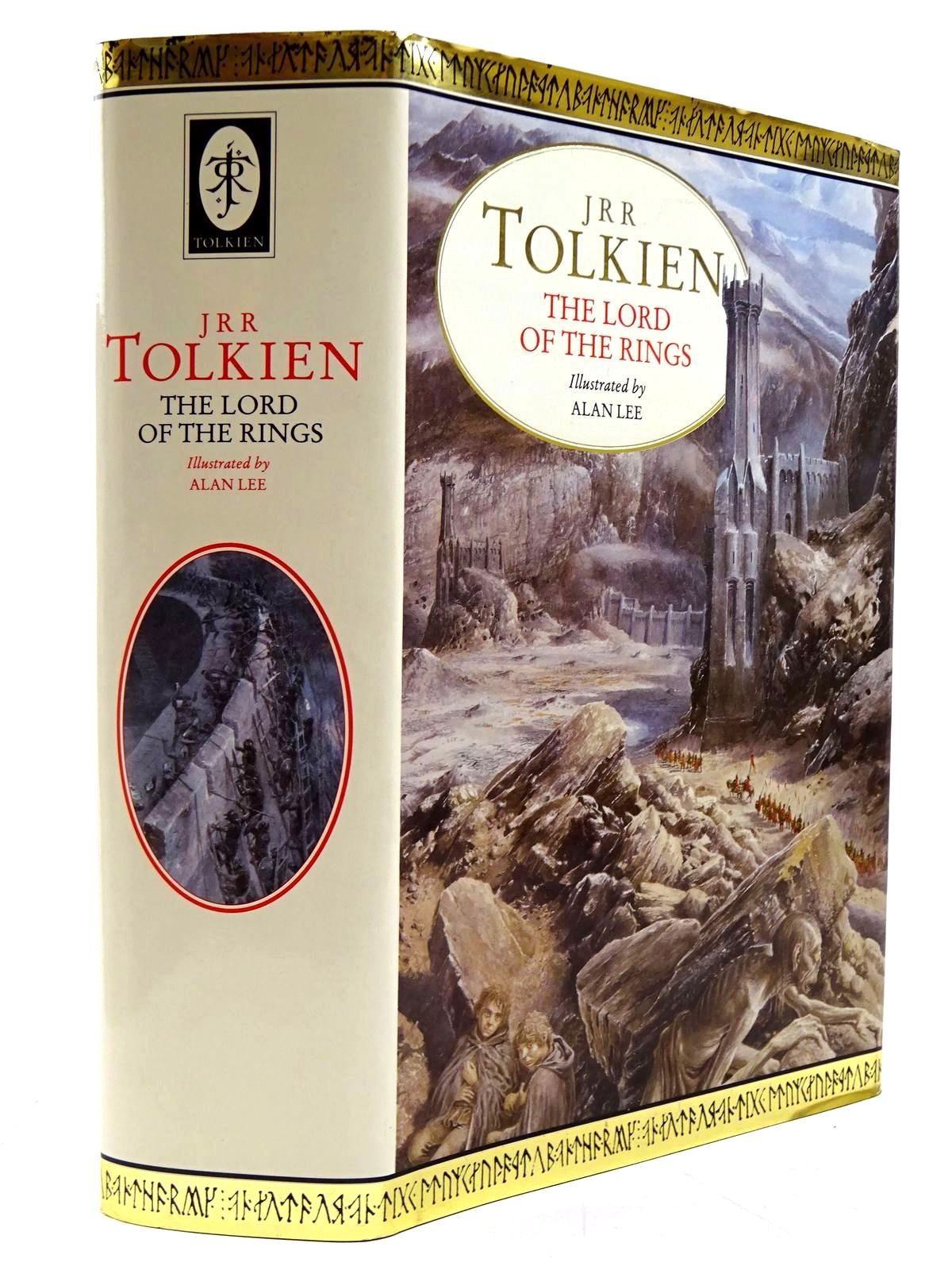 Photo of THE LORD OF THE RINGS written by Tolkien, J.R.R. illustrated by Lee, Alan published by Book Club Associates (STOCK CODE: 2130822)  for sale by Stella & Rose's Books