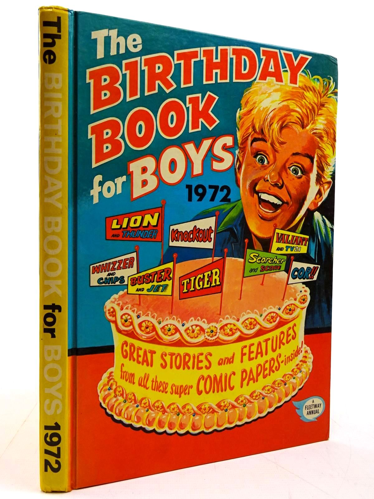 Photo of THE BIRTHDAY BOOK FOR BOYS 1972 published by IPC Magazines Ltd. (STOCK CODE: 2130826)  for sale by Stella & Rose's Books