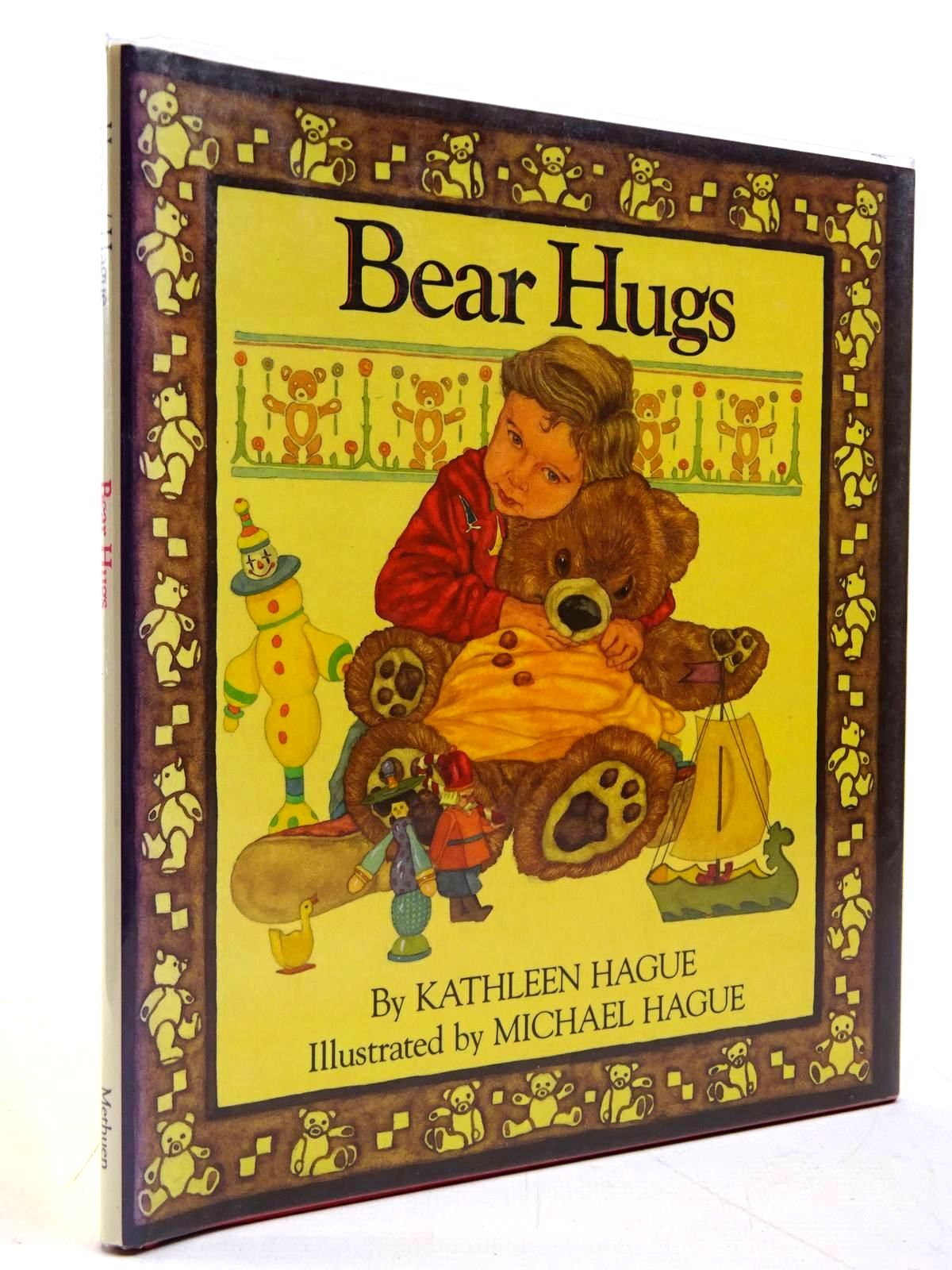 Photo of BEAR HUGS written by Hague, Kathleen illustrated by Hague, Michael published by Methuen Children's Books (STOCK CODE: 2130831)  for sale by Stella & Rose's Books