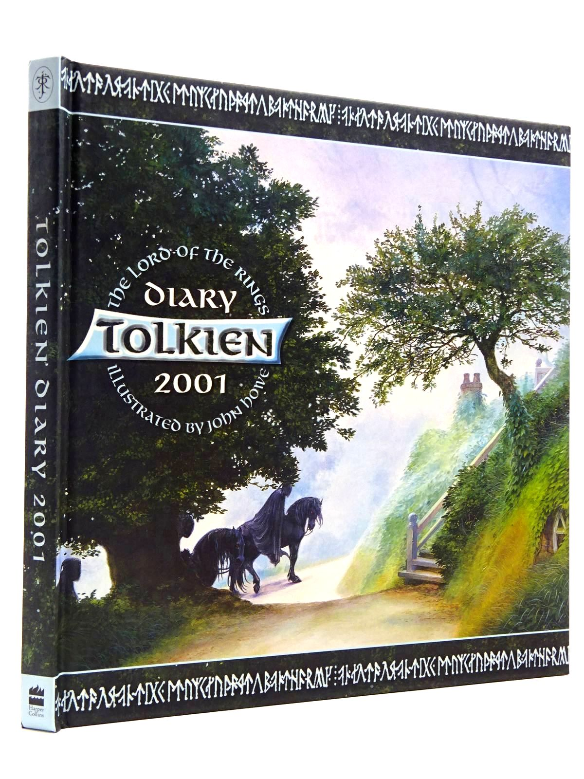 Photo of THE TOLKIEN DIARY 2001 written by Tolkien, J.R.R. illustrated by Howe, John published by Harper Collins (STOCK CODE: 2130850)  for sale by Stella & Rose's Books