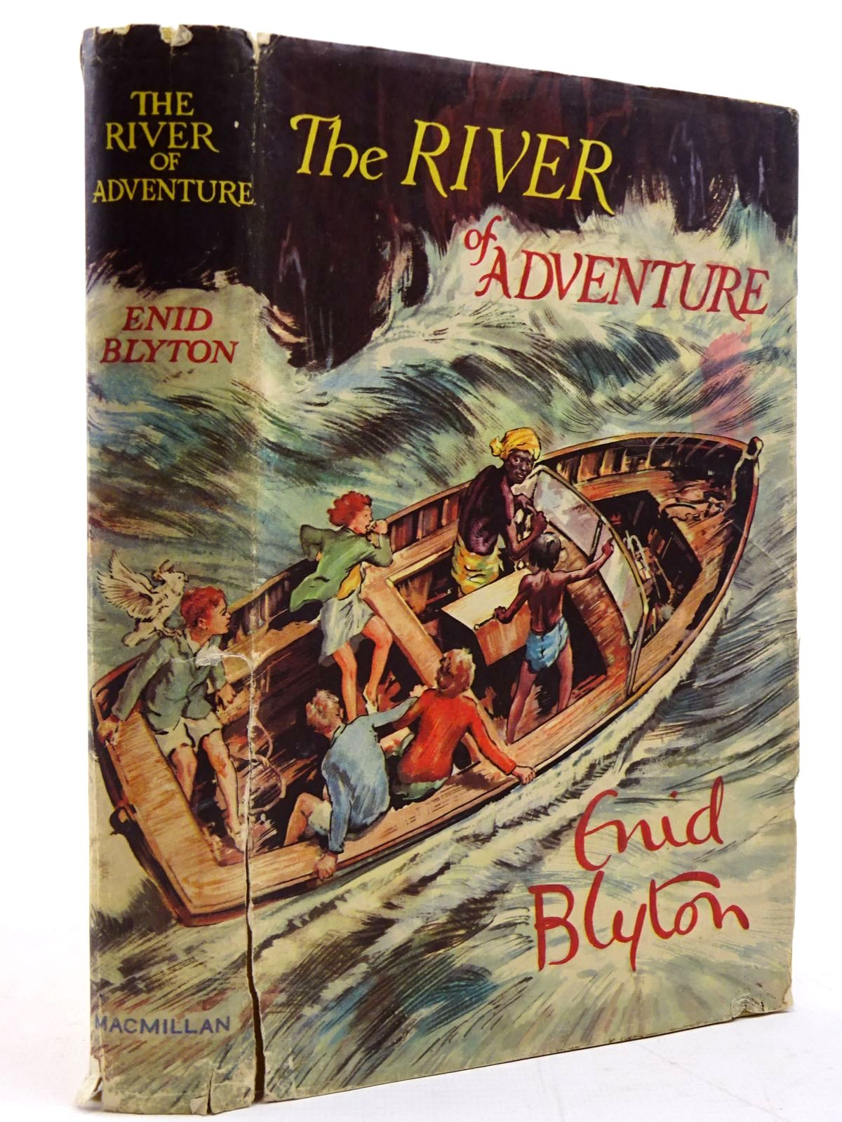Photo of THE RIVER OF ADVENTURE written by Blyton, Enid illustrated by Tresilian, Stuart published by Macmillan & Co. Ltd. (STOCK CODE: 2130858)  for sale by Stella & Rose's Books