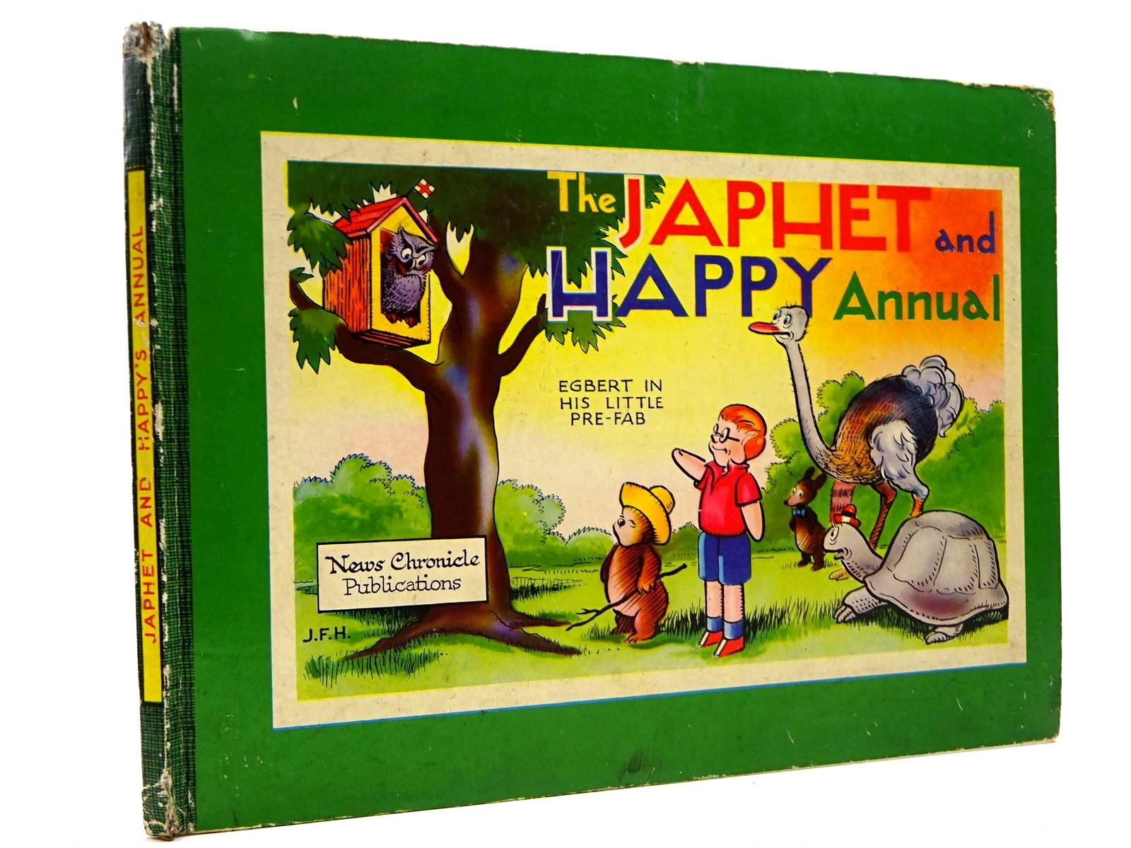 Photo of JAPHET AND HAPPY ANNUAL written by Horrabin, J.F.<br />Thomas, F.W. illustrated by Horrabin, J.F. published by News Chronicle (STOCK CODE: 2130871)  for sale by Stella & Rose's Books