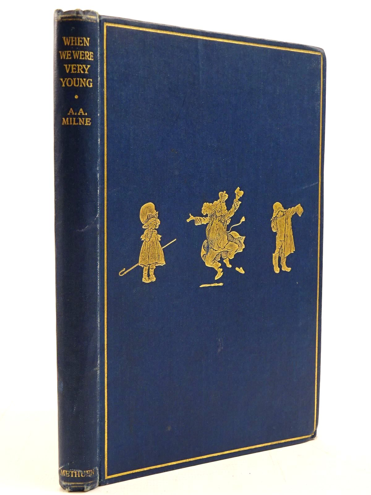 Photo of WHEN WE WERE VERY YOUNG written by Milne, A.A. illustrated by Shepard, E.H. published by Methuen & Co. Ltd. (STOCK CODE: 2130918)  for sale by Stella & Rose's Books