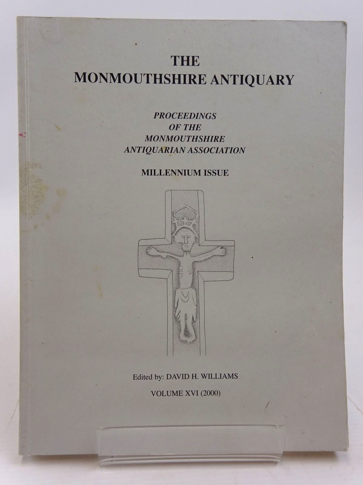 Photo of THE MONMOUTHSHIRE ANTIQUARY VOLUME XVI written by Williams, David H. published by Monmouthshire Antiquarian Association (STOCK CODE: 2130974)  for sale by Stella & Rose's Books