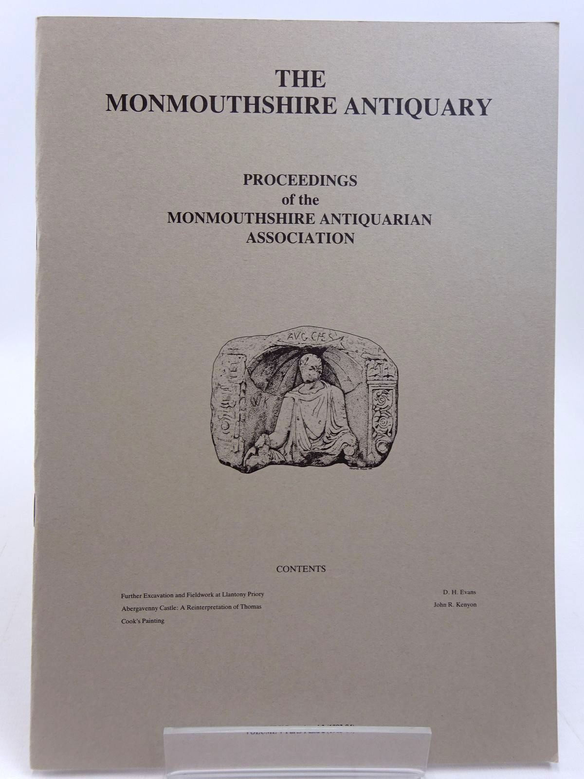 Photo of THE MONMOUTHSHIRE ANTIQUARY VOLUME V PARTS 1 AND 2 published by Monmouthshire Antiquarian Association (STOCK CODE: 2130980)  for sale by Stella & Rose's Books