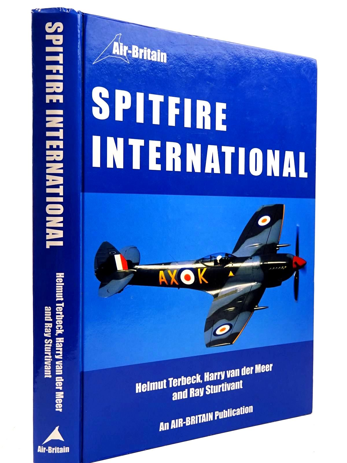 Photo of SPITFIRE INTERNATIONAL written by Terbeck, Helmut<br />Van Der Meer, Harry<br />Sturtivant, Ray published by Air-Britain (Historians) Ltd. (STOCK CODE: 2131005)  for sale by Stella & Rose's Books
