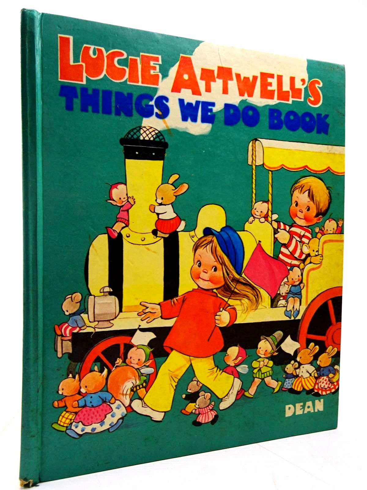 Photo of LUCIE ATTWELL'S THINGS WE DO BOOK written by Attwell, Mabel Lucie illustrated by Attwell, Mabel Lucie published by Dean & Son Ltd. (STOCK CODE: 2131037)  for sale by Stella & Rose's Books