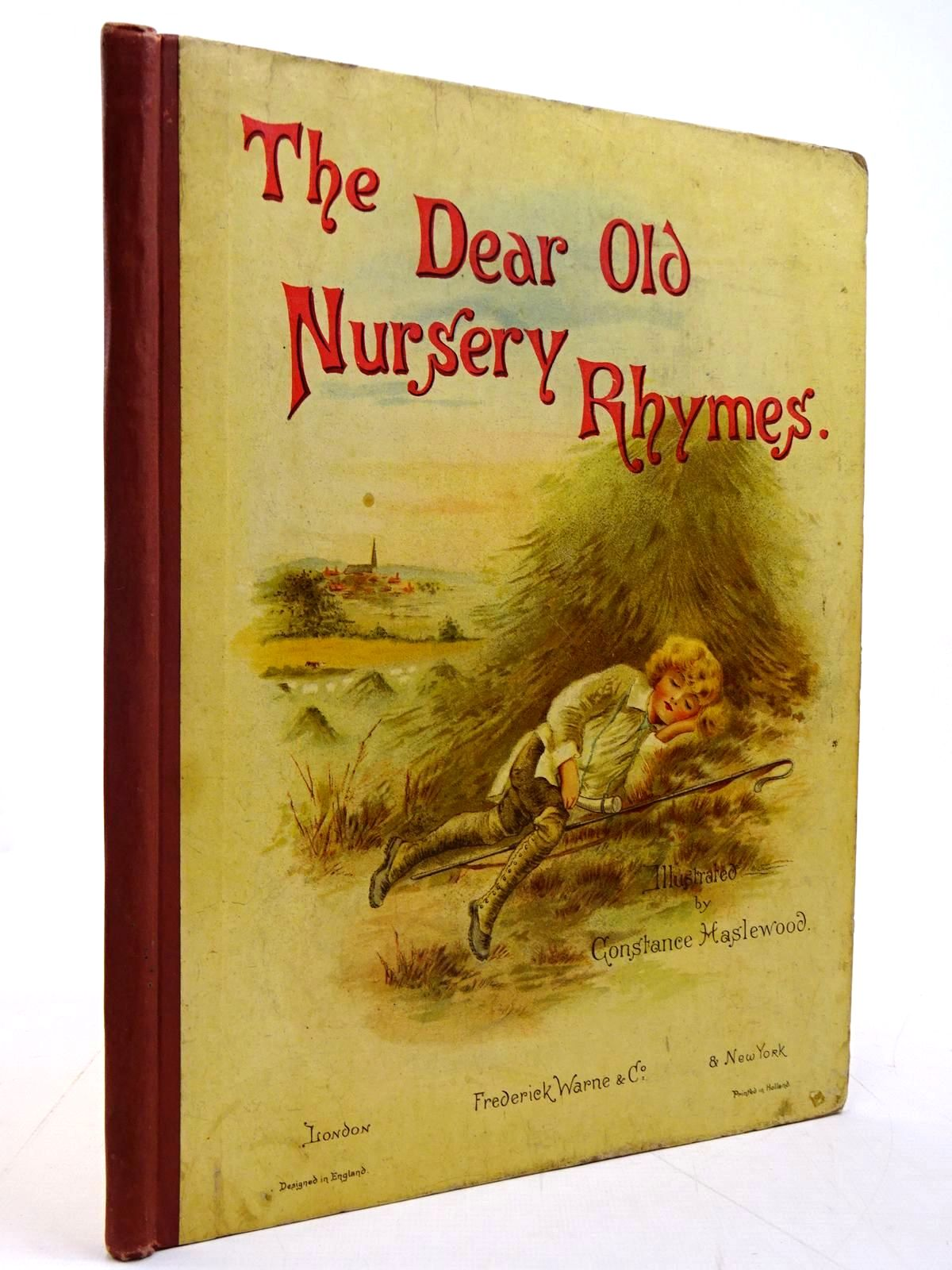 Photo of THE DEAR OLD NURSERY RHYMES illustrated by Haslewood, Constance published by Frederick Warne & Co. (STOCK CODE: 2131041)  for sale by Stella & Rose's Books
