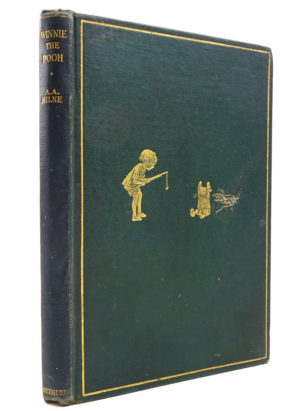 Photo of WINNIE-THE-POOH written by Milne, A.A. illustrated by Shepard, E.H. published by Methuen & Co. Ltd. (STOCK CODE: 2131056)  for sale by Stella & Rose's Books