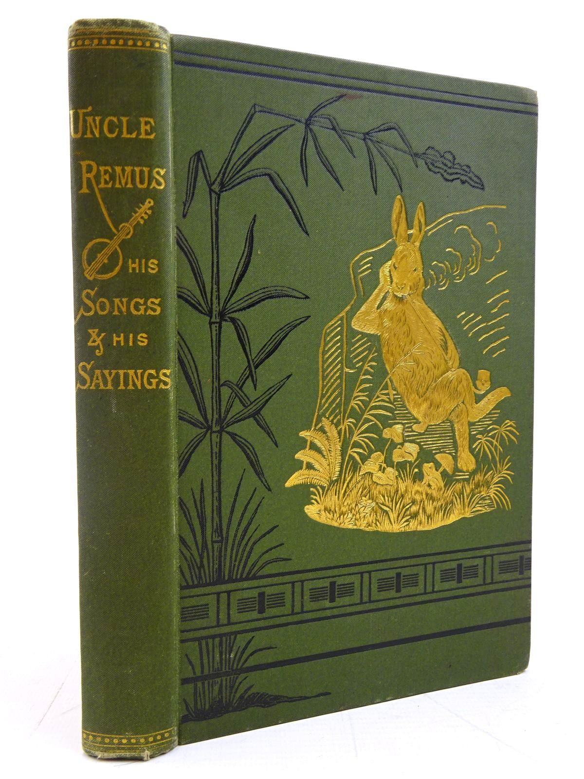Photo of UNCLE REMUS HIS SONGS AND HIS SAYINGS written by Harris, Joel Chandler illustrated by Church, Frederick S.<br />Moser, James H. published by D. Appleton & Company (STOCK CODE: 2131058)  for sale by Stella & Rose's Books