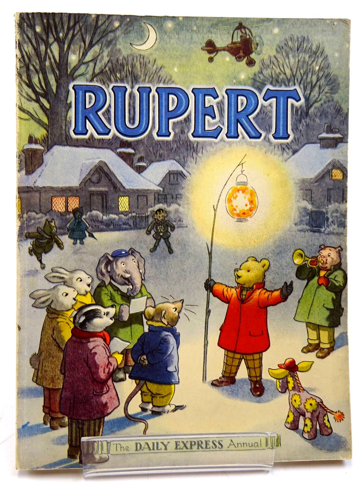 Photo of RUPERT ANNUAL 1949 written by Bestall, Alfred illustrated by Bestall, Alfred published by Daily Express (STOCK CODE: 2131072)  for sale by Stella & Rose's Books
