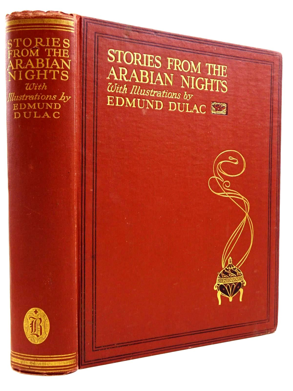 Photo of STORIES FROM THE ARABIAN NIGHTS written by Housman, Laurence illustrated by Dulac, Edmund published by Hodder & Stoughton, Boots the Chemists (STOCK CODE: 2131079)  for sale by Stella & Rose's Books