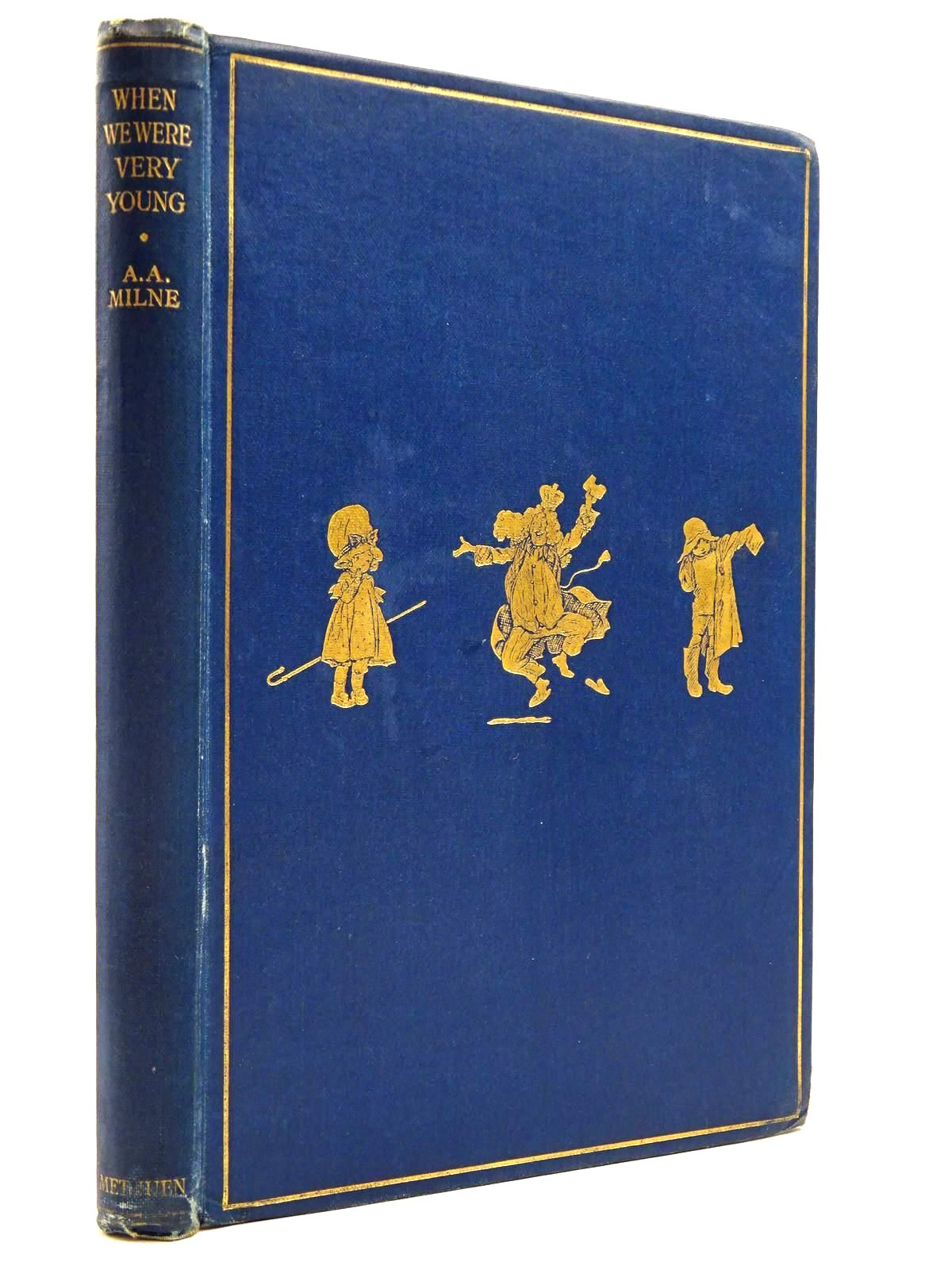 Photo of WHEN WE WERE VERY YOUNG written by Milne, A.A. illustrated by Shepard, E.H. published by Methuen & Co. Ltd. (STOCK CODE: 2131109)  for sale by Stella & Rose's Books