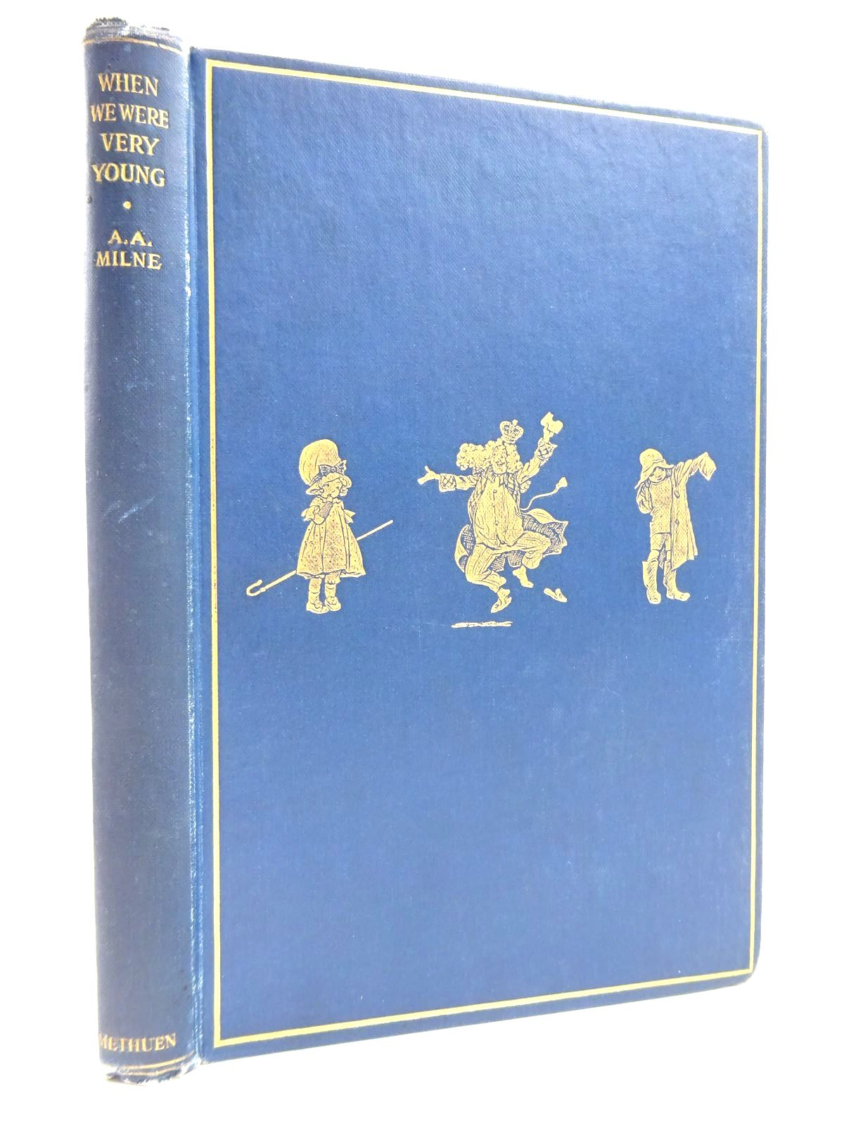 Photo of WHEN WE WERE VERY YOUNG written by Milne, A.A. illustrated by Shepard, E.H. published by Methuen & Co. Ltd. (STOCK CODE: 2131141)  for sale by Stella & Rose's Books