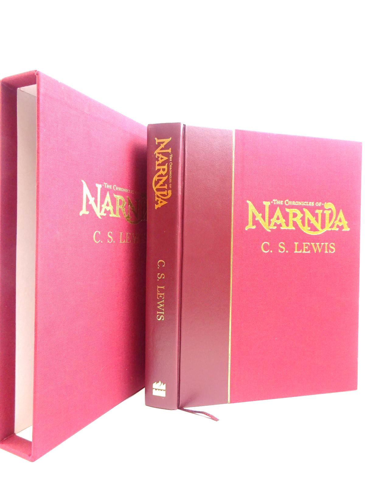 Photo of THE COMPLETE CHRONICLES OF NARNIA written by Lewis, C.S.<br />Gresham, Douglas illustrated by Baynes, Pauline published by Harper Collins Childrens Books (STOCK CODE: 2131143)  for sale by Stella & Rose's Books