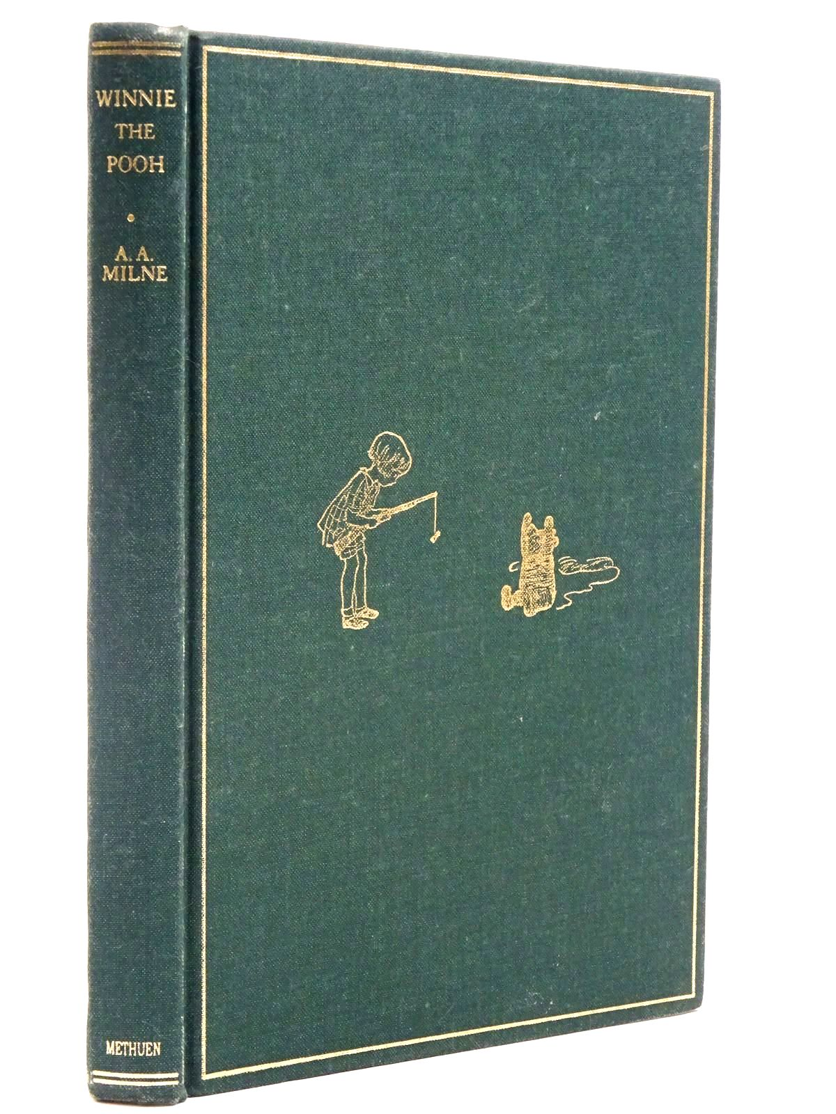 Photo of WINNIE-THE-POOH written by Milne, A.A. illustrated by Shepard, E.H. published by Methuen Children's Books (STOCK CODE: 2131169)  for sale by Stella & Rose's Books