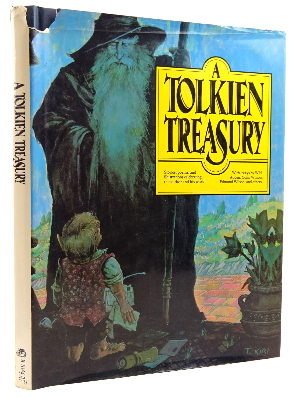 Photo of A TOLKIEN TREASURY written by Becker, Alida<br />Auden, W.H.<br />Wilson, Colin<br />Wilson, Edmund<br />et al,  illustrated by Green, Michael<br />Kirk, Tim published by Courage Books (STOCK CODE: 2131276)  for sale by Stella & Rose's Books
